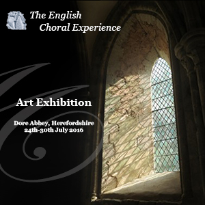 Exhibition at Dore Abbey with the ECE